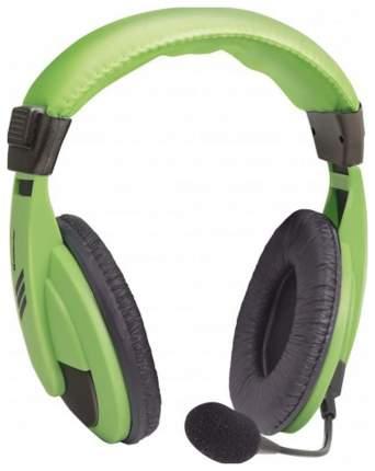 Игровые наушники Defender Gryphon 750 Green/Black