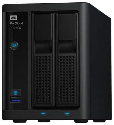 Сетевое хранилище данных Western Digital My Cloud Pro PR2100 WDBVND0080JBK-EEUE