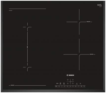 Встраиваемая варочная панель индукционная Bosch PVS651FB1E Black