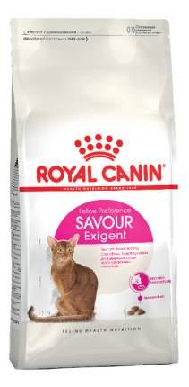 Сухой корм для кошек ROYAL CANIN Savour Exigent, для привередливых к вкусу, 0,4кг