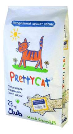 Наполнитель для туалета Pretty Cat Древесный 23 кг Хвоя