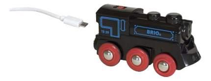 Набор Brio паровоз на аккумуляторах 33599