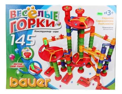 Конструктор Кроха Bauer Веселые Горки, 145 Элементов