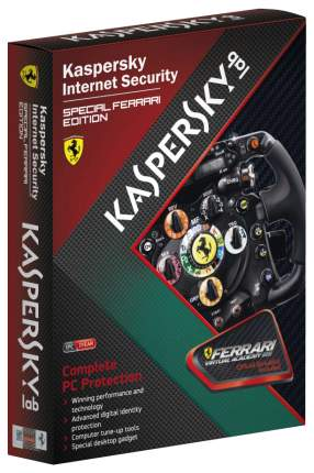 Антивирус Kaspersky Internet Security Special Ferrari Edition