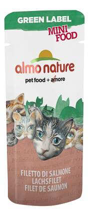 Лакомство для кошек Almo Nature Green Label, лосось, рис, 0.003кг