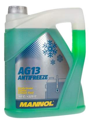 Антифриз MANNOL Hightec Зеленый Готовый антифриз -40 5л