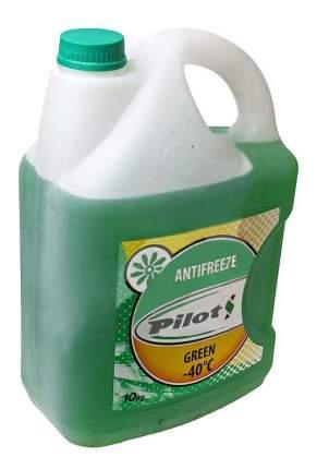Антифриз PILOTS Зеленый Готовый антифриз -40 10кг 3203