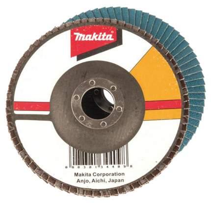 Круг лепестковый шлифовальный для шлифовальных машин Makita D-27698