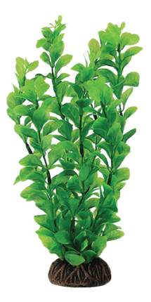 Искусственное растение для аквариума Laguna людвигия зеленая 20 см, пластик, керамика