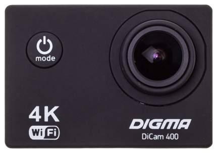 Экшн камера Digma DiCam 400 Black