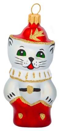 Елочная игрушка Елочка Кот в сапогах C175 8 см 1 шт.