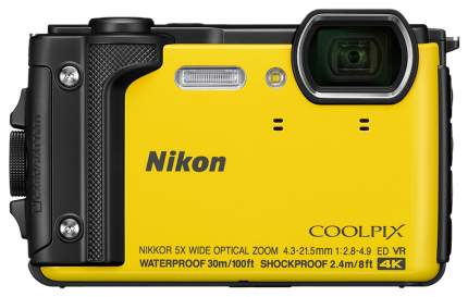 Фотоаппарат цифровой компактный Nikon W300 Yellow