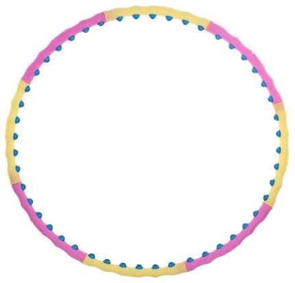 Массажный обруч Funbox Media 45 BD NEW 100 см розовый/желтый