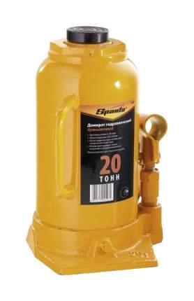 Домкрат гидравлический бутылочный Sparta 50328 20 т высота подъема 250-470 мм