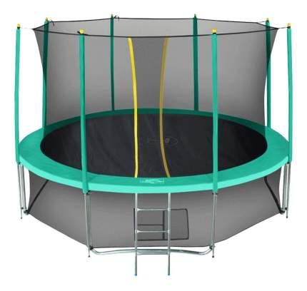 Батут Hasttings Classic Green с сеткой и лестницей зеленый 366 см