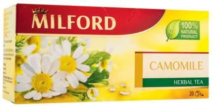 Чай травяной Milford camomile 20 пакетиков