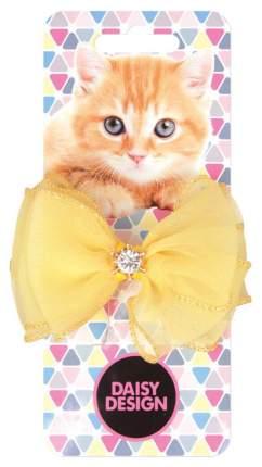 Заколка для волос Daisy Design Kittens Бонни Желтый