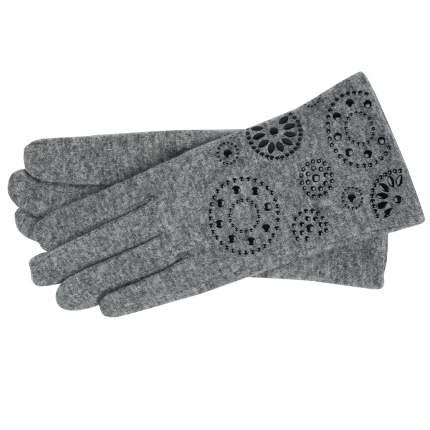 Женские серые перчатки со стразами Pia Rossini Callie_charcoal