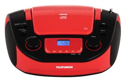Магнитола TELEFUNKEN TF-CSRP3481 Красный, черный