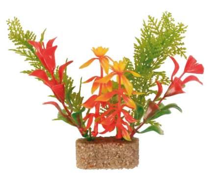 Искусственное растение ветка 20см зеленый, красный, желтый