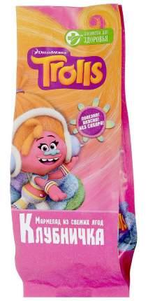 Мармелад Лакомства для здоровья trolls клубничка детская коллекция 105 г