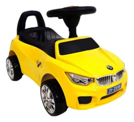 Толокар BMW желтый RIVERTOYS