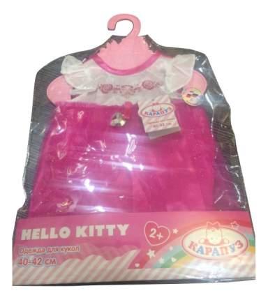 Платье Белый корсаж Карапуз Hello Kitty 40-42 см