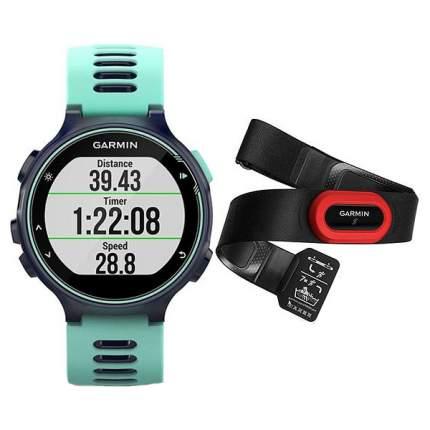 Смарт-часы Garmin 735XT HRM-Run голубые