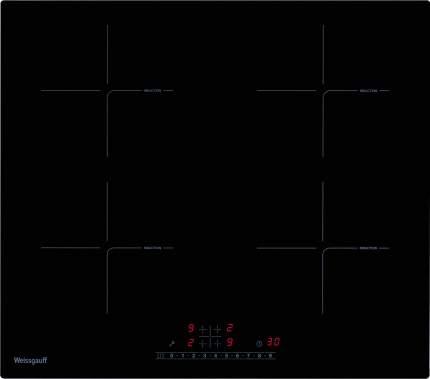Встраиваемая варочная панель индукционная Weissgauff HI 640 BS Black