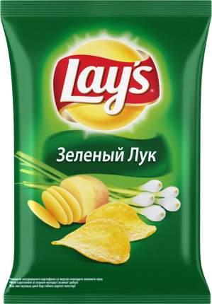 Картофельные чипсы Lay's зеленый лук 150 г