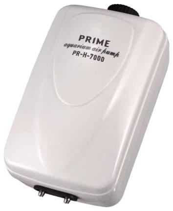 Компрессор для аквариума Prime PR-H-7000 двуканальный, 2 х 6 л/мин
