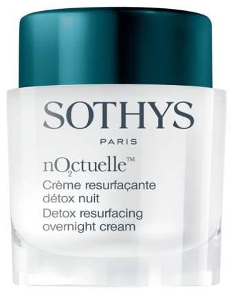 Крем для лица Sothys nO2ctuelle Detox Resurfacing Overnight Cream 50мл