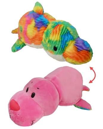 Мягкая игрушка 1 TOY Вывернушка Морской котик и Радужный Дельфин 40 см