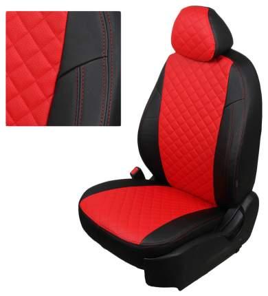 Комплект чехлов на сиденья Автопилот Nissan, Renault re-dt-d11-chekr-r