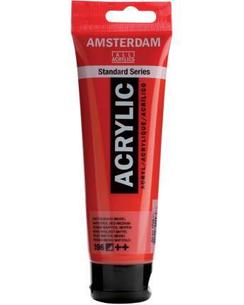 Акриловая краска Royal Talens Amsterdam №398 красный нафтол светлый 120 мл