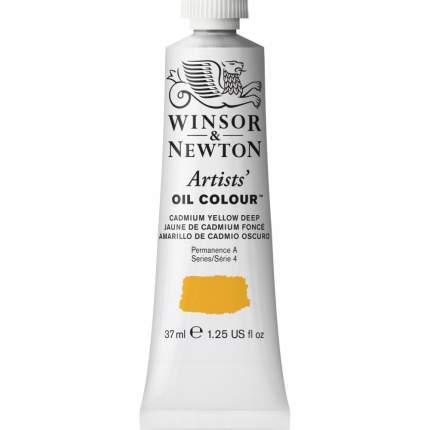 Масляная краска Winsor&Newton Artists насыщенно-желтый кадмий 37 мл