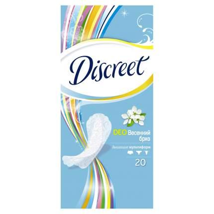 Прокладки Discreet ежедневные Deo Spring Breeze Multiform Single 20шт