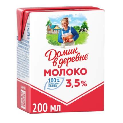 Молоко Домик в деревне ультрапастеризованное  3.5% 200 г
