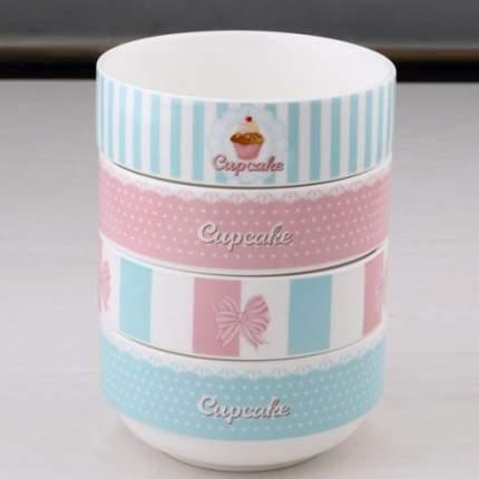 Набор тарелок Cupcake Bergner BG-21201