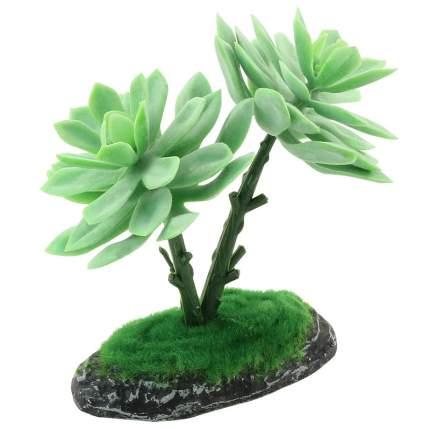 Искусственное растение для террариума Repti-Zoo Граптоверия 15 см, пластик