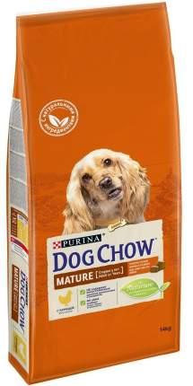 Сухой корм для собак Dog Chow Mature Adult, старше 5 лет, курица, 14кг