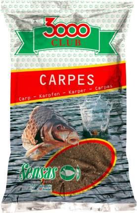 Прикормка Sensas 3000 Club Carp, 1 кг