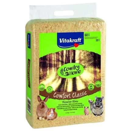 Наполнитель для туалета для грызунов Vitakraft COMFORT CLASSIC, опилки, 60л