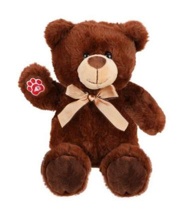 Мягкая игрушка животное Fluffy Family Мишка Шоколадка 681664
