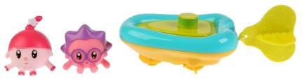 """Игрушка для ванны """"Малышарики"""" - Ежик и Нюшенька на лодке Играем Вместе"""