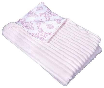 Плед детский двухсторонний, 90х90 см (цвет: розовый)