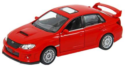 Машина металлическая RMZ City 1:32 SUBARU WRX STI инерционная, Цвет Красный