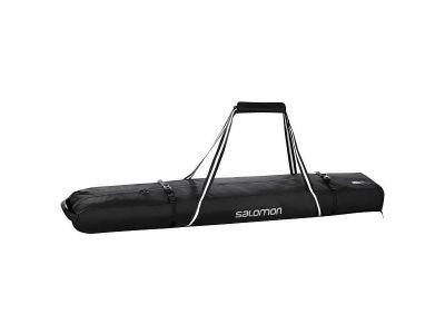Чехол для лыж Salomon 2pairs Skiba, black, 195 см