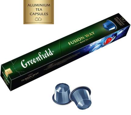 Чай в капсулах Greenfield fusion way 10 капсул