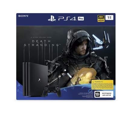 Игровая приставка Sony PlayStation 4 Pro 1Tb + Death Stranding